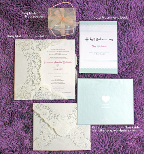not so complete : Wedding stationary